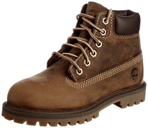 Timberland Waterproof Boys' Authenic Boots Slate 1XTzqXxnS