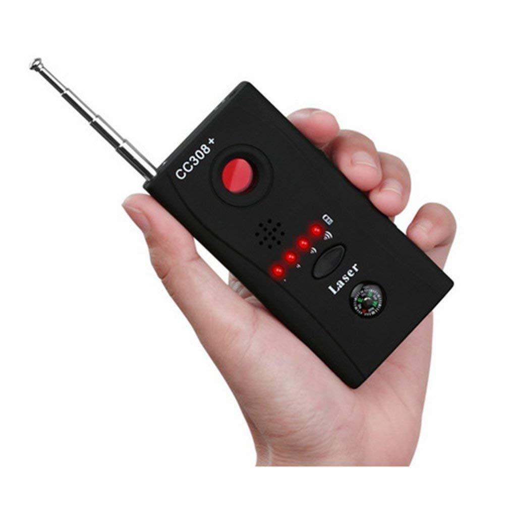 Detector de señal de RF inalámbrico detectar Dispositivo de cámara Oculta Multifuncional Monitor de señal Anti-espía con luz LED: Amazon.es: Hogar