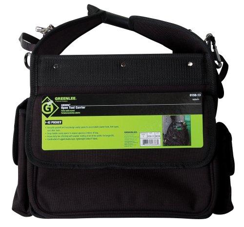 (Greenlee 0158-13 Cordura Open Tool Carrier, 11