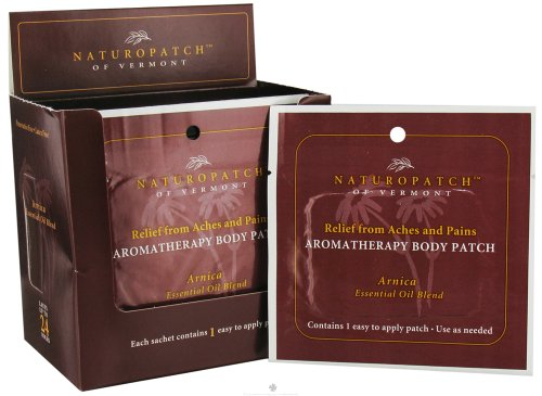 Natural Patches of Vermont - Aromatherapy Body Patch Essential Oil Blend Arnica - Formerly Naturopatch ()