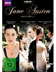 Jane Austen Edition 2 (Miss Austen Regets, Northanger Abbey 1986, Pride & Prejudice 1995) (4 Disc Set)