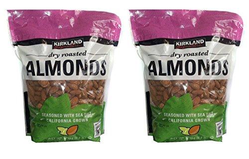 roasted almonds no salt - 8