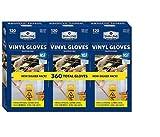 Member's Mark Commercial Disposable Latex-Free Vinyl Gloves (120 gloves, 3 pk.) SC