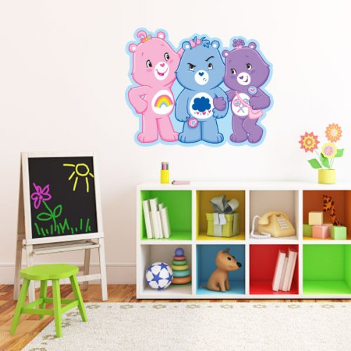 Care Bears three bears together Wall Graphic Decal Sticker 25