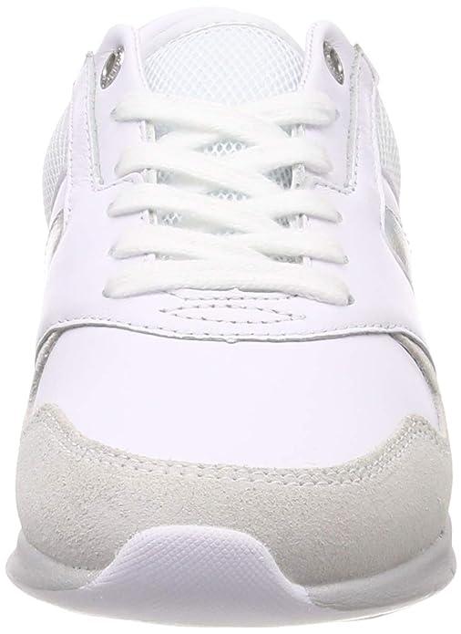 70084cf2e Tommy Hilfiger Women's Iridescent Light Sneaker Low-Top: Amazon.co.uk:  Shoes & Bags
