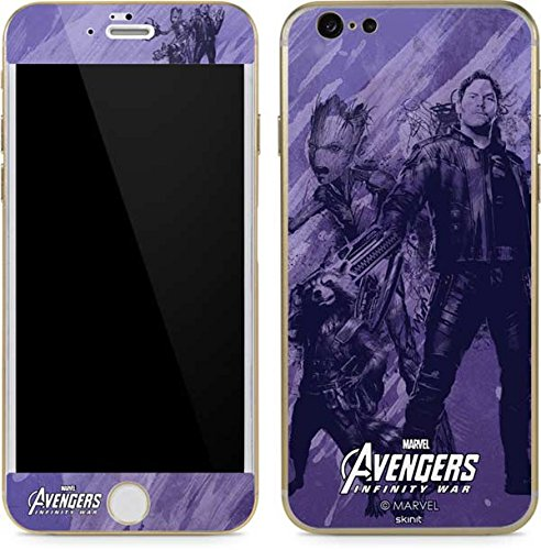 Guardians Of The Galaxy Iphone 6 6S Skin   Guardians Of The Galaxy Chroma   Marvel   Skinit Skin