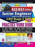 Kiran's Railway (RRBs) Junior Engineer CBT Stage-I Exam PWB - English--2432