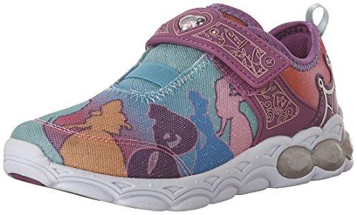 Stride Rite Disney Princesses Unite Sneaker (Toddler/Little Kid), Rainbow, 13 W US Little (Stride Rite Girls Sneakers)