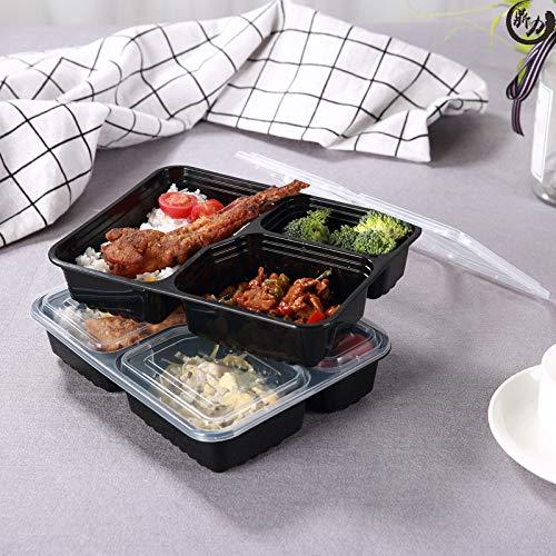Envase de preparación de la comida. Recipiente de plástico ...