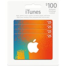$100CAD/ CANADIAN Apple iTunes Gift Card Certificate, iTune CANADA, not US.
