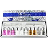Yeefant Eyelash Potion Kit, New Eyelash Curling Wave Lotion Perming Curler Perm Kit Eyelash Eye Rod Glue Set