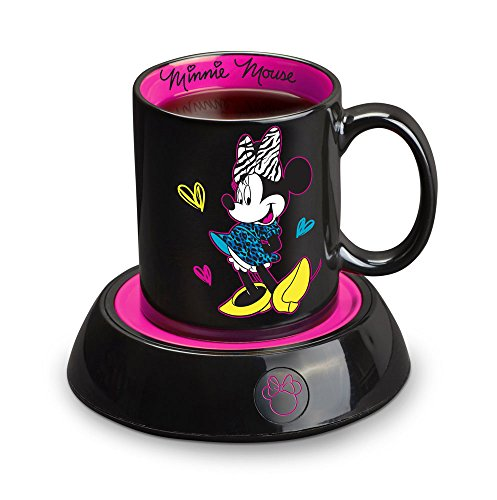 Disney DMG18 Minnie Mouse Mug Warmer, Black (Disney Cupcake Maker compare prices)