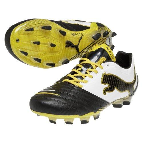 Puma - Zapatillas para hombre negro negro y amarillo
