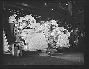 Amazon Com 1941 Photo Production Diesel Engines General
