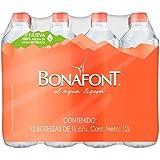 Bonafont, Agua Natural, 1litro, 12 Pack