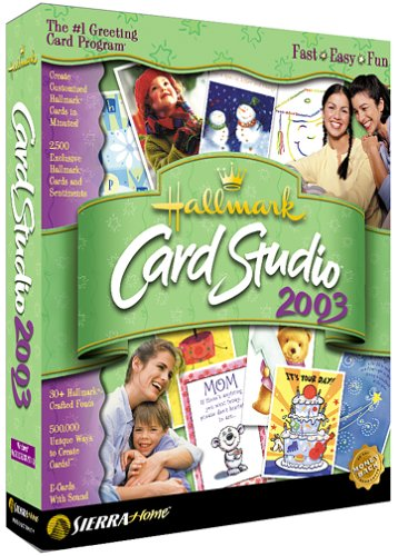 Hallmark Card Studio 2003 by Nova Development US