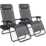 Best Lounge Chairs - Best Choice Products Set of 2 Adjustable Zero Review