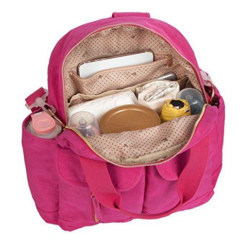 femme Barbie d'école dos Rosé Sac épaule à BBBP180 Sac loisir Voyages Sac fille en à Rosé pour nylon porté Sac main scolaire loisir OO0pn