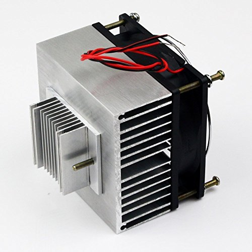 Huhushop(TM) DIY Thermoelectric Refrigeration Semiconductor Cooling System Cooler fan Kit by Yosoo (Image #3)