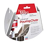 NewMetro PC-10 Design Universal Pouring Chute for Use with Mixing Bowls, Silver
