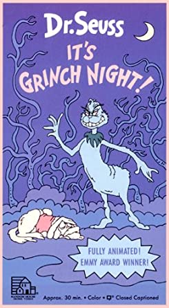 It S Grinch Night Video Packag Vhs Amazon Co Uk Video