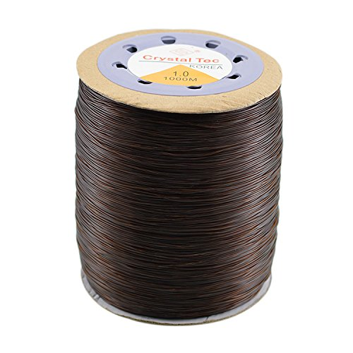 (1mm Jewelry Making Stretchy Elastic Cord Crystal String Wire for Jewelry Making Beading Bracelet Wire Fishing Thread Rope …)