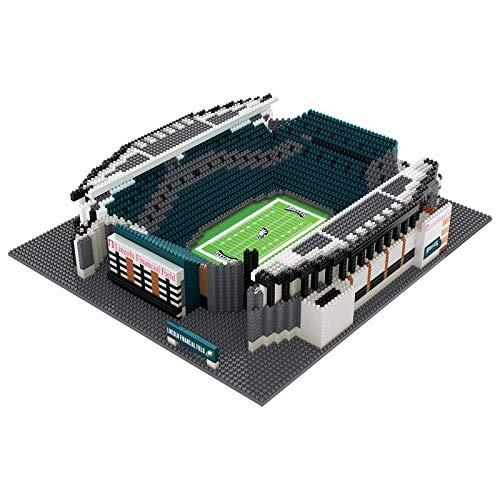 NFL Philadelphia Eagles 3D Brxlz Stadium Building Blocks Set3D Brxlz Stadium Building Blocks Set, Team Color, One Size