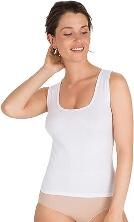 Playtex Camiseta Interior de Algodón Para Mujer con Tirante Ancho ...
