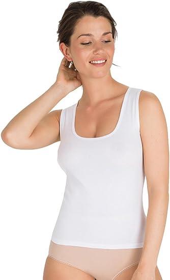 Playtex Camiseta Interior de Algodón Para Mujer con Tirante Ancho XL: Amazon.es: Ropa y accesorios