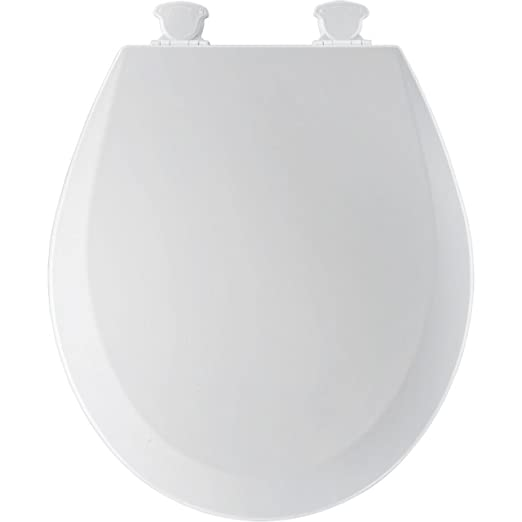 Bemis 500EC000 Molded Wood Round Best Toilet Seat