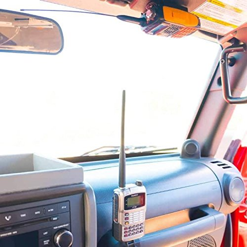 Universal Fit Portable CB and HAM Radio Sun Visor Mount - Import It All 14c2994f461