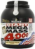 Weider Nutrition Mega Mass 4000 White Chocolate Powder 3000g by Weider