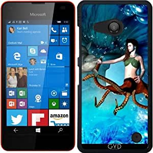 Funda para Microsoft Lumia 550 - Las Mujeres Pulpo Con Delfines by nicky2342