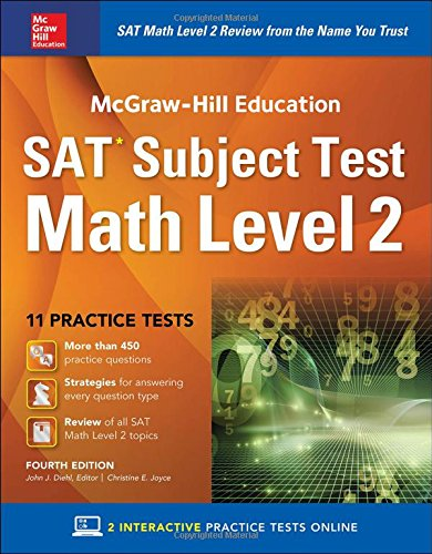 McGraw-Hill Education SAT  Subject Test Math Level 2,  Fourth Edition (Test Prep)