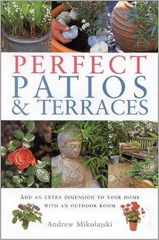 Merveilleux Perfect Patios And Terraces (Gardening Essentials ) (Garden Essentials):  Andrew Mikolajski: 9781842156889: Amazon.com: Books