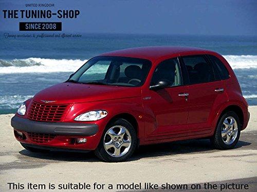 Para Chrysler Pt Cruiser 2004 - 10 cambio de arranque negro piel auténtica: Amazon.es: Coche y moto