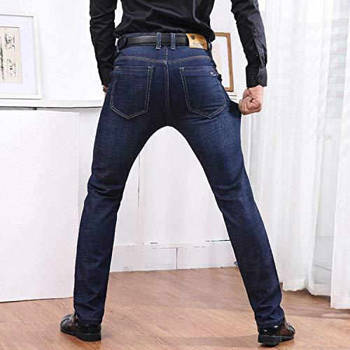 Con Fit Gamba Jeans Dritti Slim In Eleganti All Tutti Vita Dritta Denim Season Normali Elasticizzata Uomo Sse Allacciato Da Colour Giovane And R Elasticizzati qffXSwpU