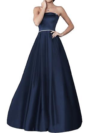 Royaldress Violett Satin Pailletten Lang Abendkleider Ballkleider  Partykleider Bodenlang A-linie Rock: Amazon.de: Bekleidung