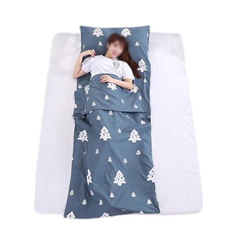 Jitnzee - Saco de Dormir portátil Plegable de algodón Suave ...
