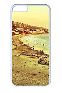 iPhone 4s Case, Laguna Personalized Slim [Scratch Proof] Protective Hard PC White Case Cover for Apple iPhone 4s Only