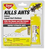 Enoz Kills Ants Liquid Ant Killer - Prefilled Ant Bait Stations (6)