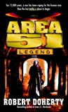 Front cover for the book Area 51: Legend by Robert Doherty