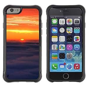 Suave TPU GEL Carcasa Funda Silicona Blando Estuche Caso de protección (para) Apple Iphone 6 PLUS 5.5 / CECELL Phone case / / Sunset Beautiful Nature 91 /