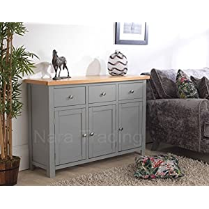 Richmond Grey Painted Furniture Large Sideboard