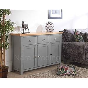 Richmond Grey Painted Furniture Large Sideboard