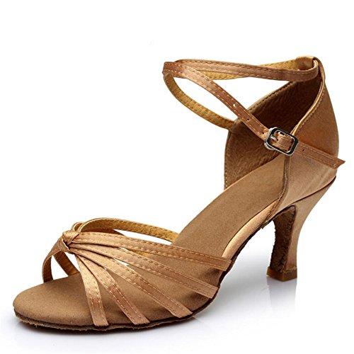 América Zapatos De Baile Zapatos De Baile Adulto Femenino Las Mujeres Con Zapatos De Cuero Blando En Adultos A7cm