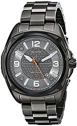 Bulova Men's 98B225 Precisionist Analog Display Japanese Quartz Grey Watch