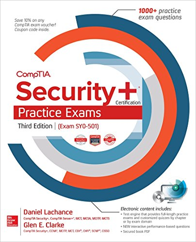 CompTIA Security+ Certification Practice Exams, 3rd Edition (Exam SY0-501) Front Cover