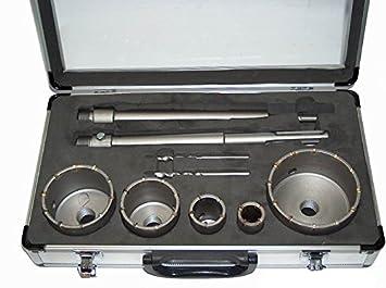 Lochsäge SDS Plus Adapter Bohrkrone Dosenbohrer Ø 68 Mm HM Bohrer Lochbohrer