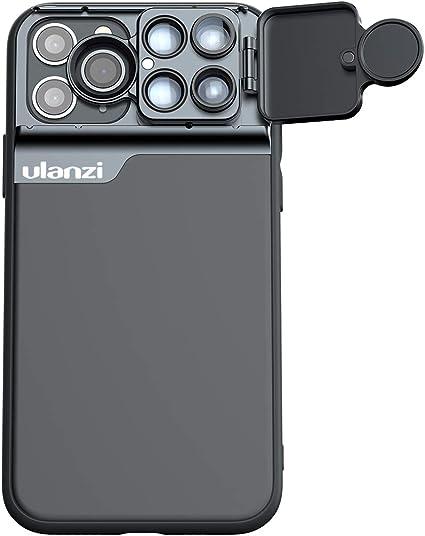Kit de Lentes de cámara de teléfono múltiple ULANZI para iPhone 11 Pro con Estuche para teléfono para iPhone 11 Pro Accesorios para teléfonos Inteligentes: Amazon.es: Electrónica